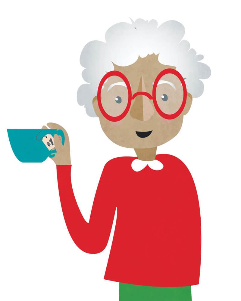 Antiquing Grandma | Gift Guide 2016