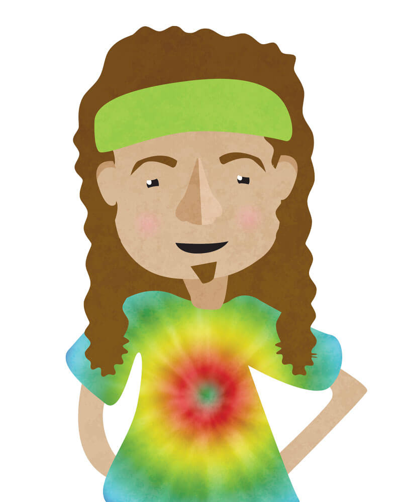 Tie Dyed Stoner | Gift Guide 2016